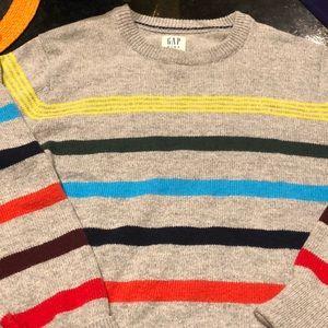 Gap boys striped sweater!